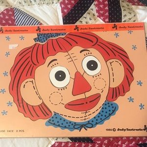 Vintage Judy Instructo Clown Puzzle NWT